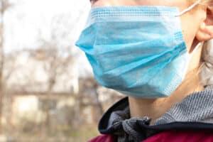 Mund-Nasen-Bedeckung Tragepflicht